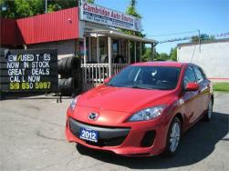 2012 Mazda Mazda3 NO ACCIDENTS    SOLD