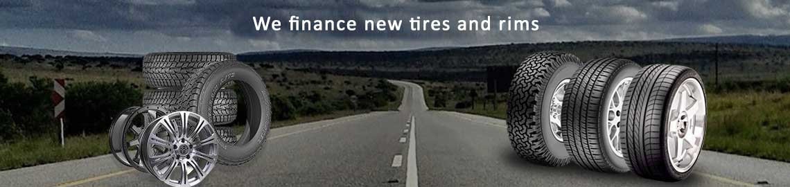 We Finance New tire and rims